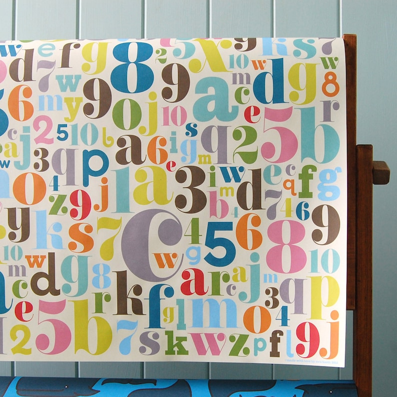 Wrapping Paper and Ribbon Set for Birthdays Special Occasions image 0