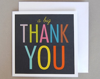 Thank You Cards - Pack of Six
