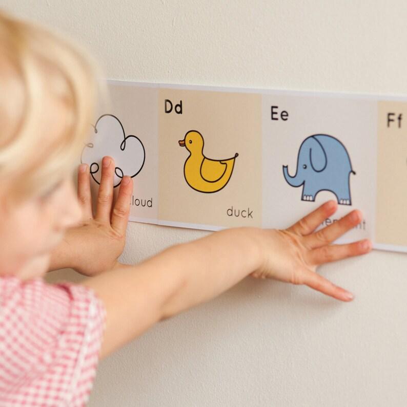 Nursery Alphabet Frieze image 0