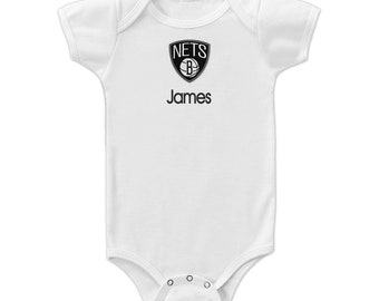 Kyrie Irving James Harden Brooklyn Nets 2021 Baby Onesie One Piece Creeper