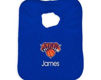 4afb82c1b72 Personalized New York Knicks Royal Bib