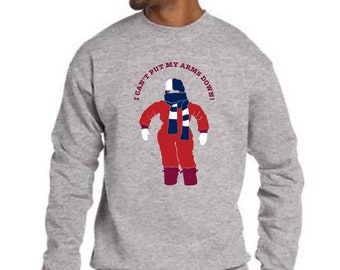 a christmas story adult sweatshirt