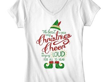 4d92ef81ebe Women s Elf Christmas T-shirt