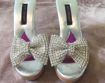 e82357b2337b4 Betsey johnson shoes | Etsy