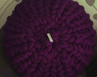 Giant Knit Cushion