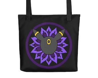 Eeveelution Medallion Tote Bag: Umbreon