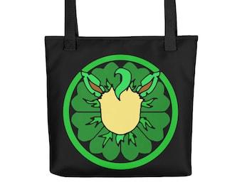 Eeveelution Medallion Tote Bag: Leafeon