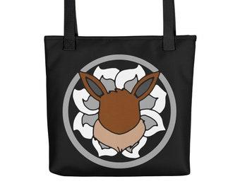 Eeveelution Medallion Tote Bag: Eevee