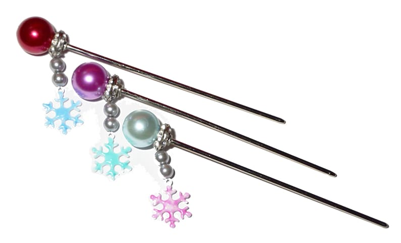 Overwatch Mei Inspired Hair Stick image 0