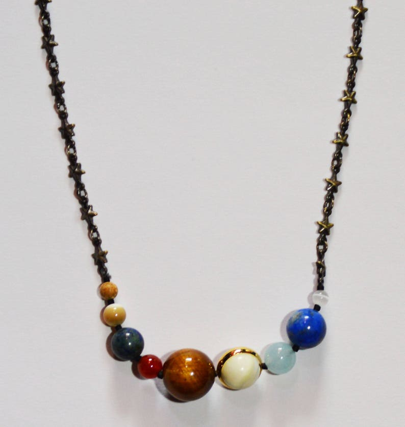Solar System Necklace image 0