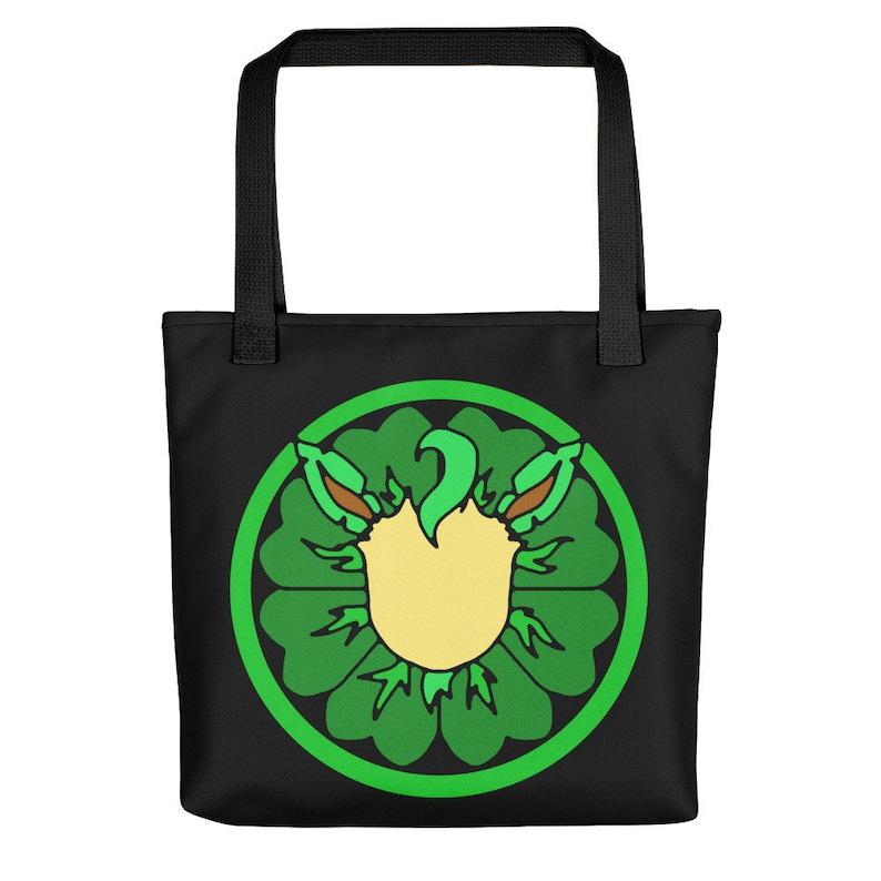 Eeveelution Medallion Tote Bag: Leafeon image 0