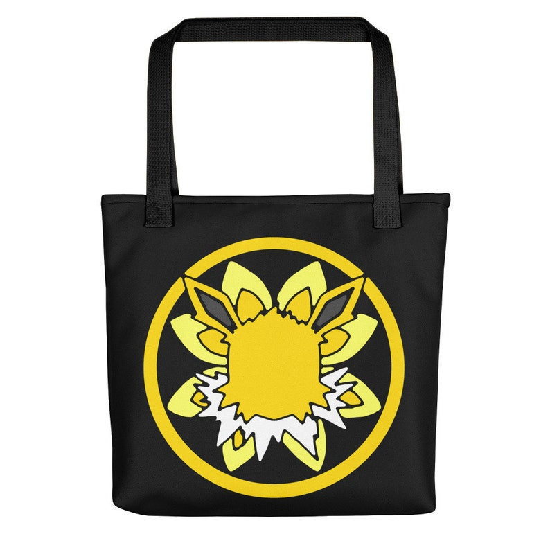 Eeveelution Medallion Tote Bag: Jolteon image 0