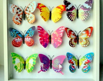 Butterfly Wall Decor Colorful  Butterfly Wall Art