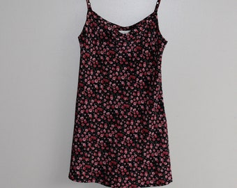 Rose Print '90s Sundress Size M