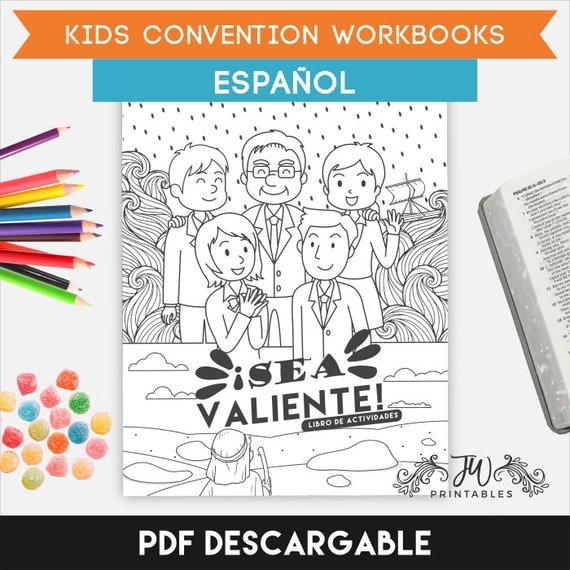 Spanish (PRINTABLE) - Kids Convention Workbook   Jw Gifts