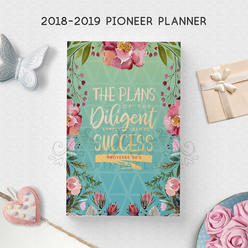 2018-2019 Ultimate Pioneer Planner (DOWNLOAD) | Ministry Planner 2019 |  Theocratic Planner 2019 | JW Gifts | JW Printables