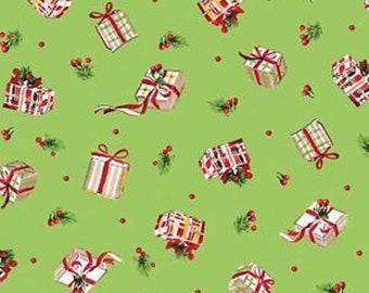Michael Miller Christmas fabric retro candy claus santa 1950s xmas material