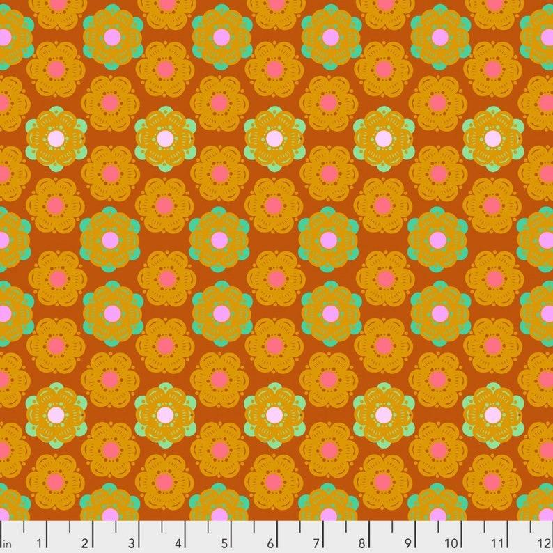 Anna Maria Horner for FreeSpirit Fabrics Sunset Hindsight Honeycomb
