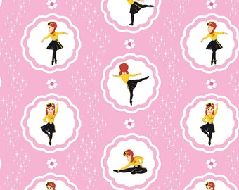 Wiggles Emma - Main - Pink - Riley Blake