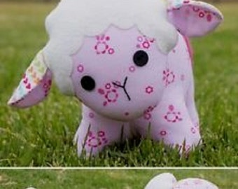 """Melly & Me pattern by  Melanie McNeice   """"Baa Baa"""" the Sheep  Stuffed Toy"""