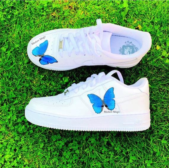 blue butterfly air forces