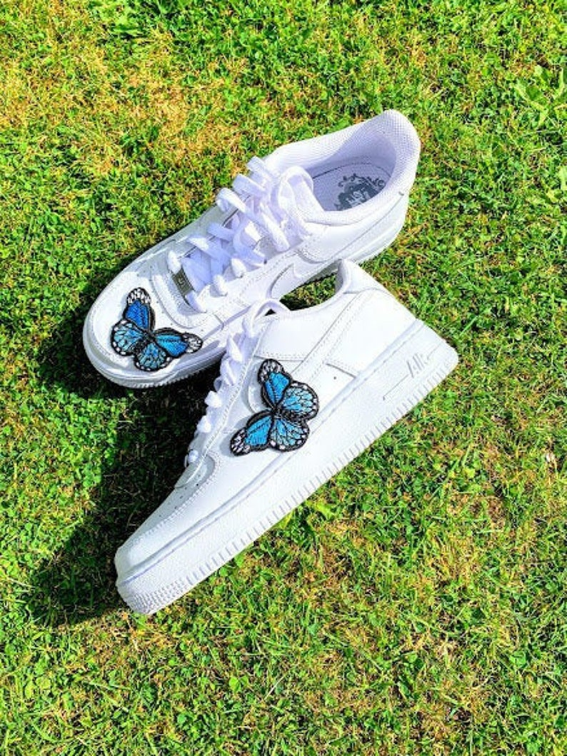 Custom Nike Air Force 1 Low Embroidered