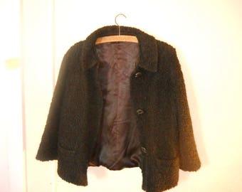 Boucle Wool coat