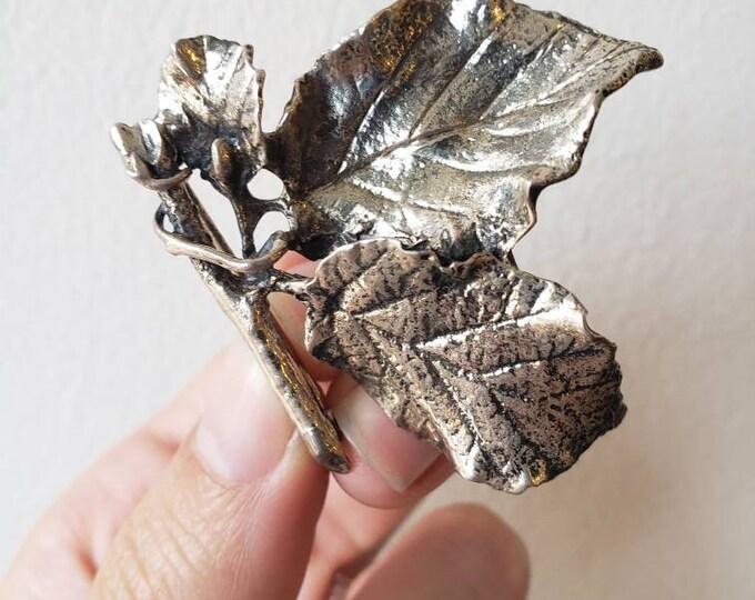Vintage Danecraft Sterling Silver Twig Pin