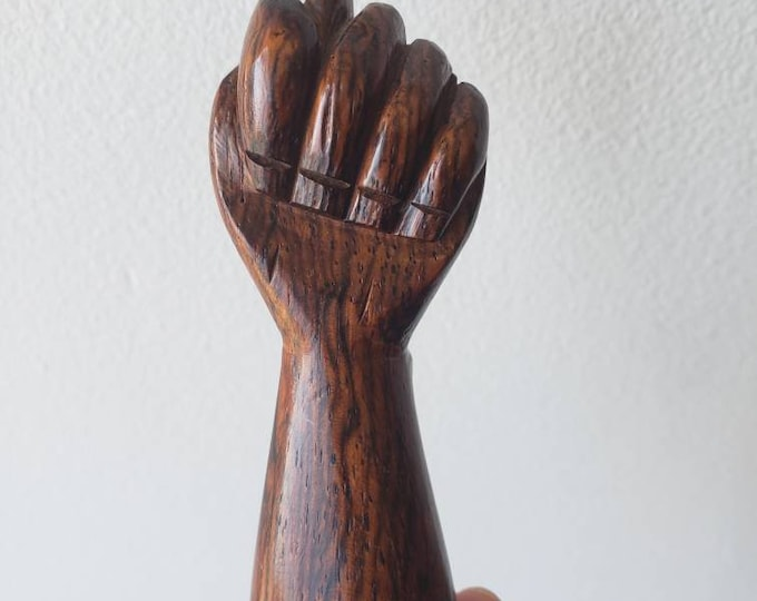 Wooden Figa Statue