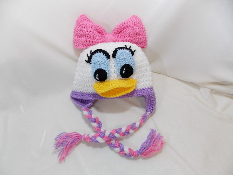 ecfe9867778 Daisy Duck Inspired Hat Daisy Duck Hat  Available in Newborn