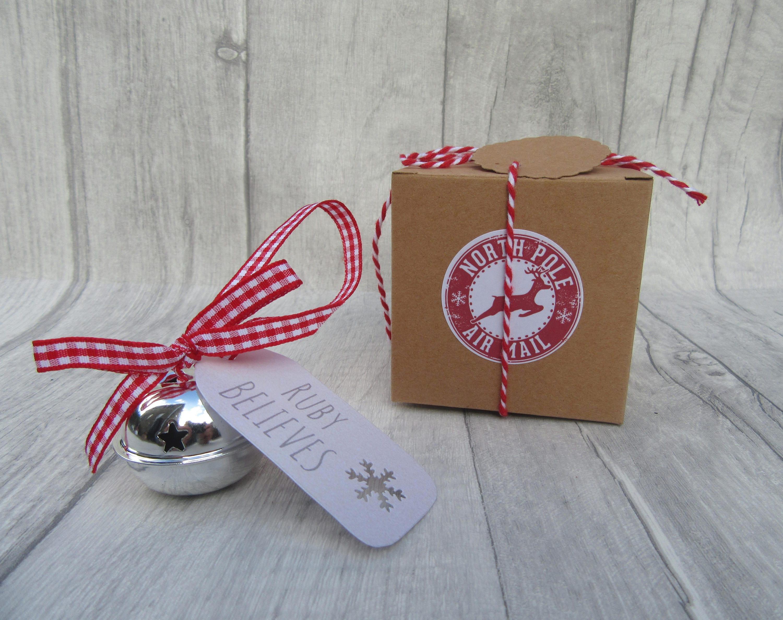 Personalised Believe Bell Christmas Eve Box Personalised   Etsy