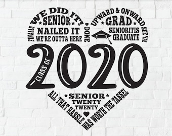 2020 Grad Svg School Etsy