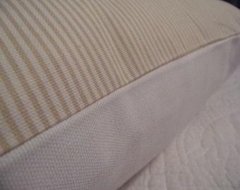 Taupe.Off White.White.Taupe Decor Pillow Cover.Stripes.FALL.Home Decor.Taupe stripes.Farmhouse Decor.Ranch Decor.Holiday Pillow Cover
