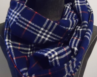 Infinity Scarves.Fall Scarves.Winter Scarves.Tall.Christmas Gifts.Gift for Her.Scarves.Flannel.Plaids