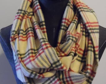Christmas Flannel.Scarves.scarf.Plaid Scarves.Holiday Scarves.Fall Scarves.Soft Flannels.Gift for Her.Christmas Presents.Flannels.