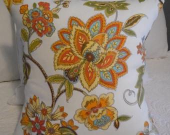 FALL.Floral Pillow Covers.Slip Covers.Summer Decor.Spring Decor.Fall DecorToss Pillow.Throw Pillow.Cushion Covers.Farmhouse