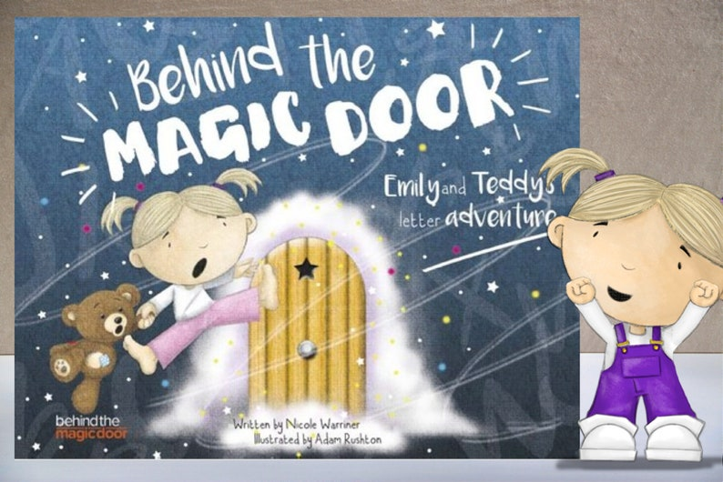 Personalised Children's Book Behind the Magic Door Ideal image 0