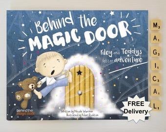 Personalized book, Ideal gift for: newborn, kids, boys, children, boys, girls, birthday, christmas, christening, baptism, Baby. Gift book.