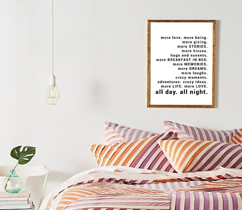 Adventure Print Tumblr Room Decor Quotes Print Bedroom Etsy
