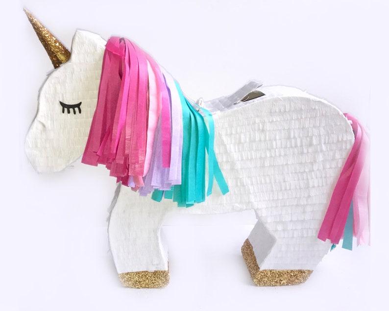 Unicorn Pinata Custom Pinata Unicorn Birthday Party Birthday image 0