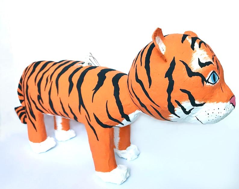 Tiger Pinata Custom Kids Jungle Party Supplies Circus image 0
