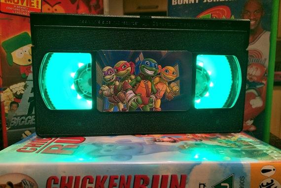 teenage mutant ninja turtles retro vhs led light living etsy rh etsy com