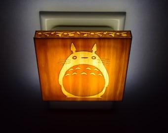 My Neighbor Totoro Miyazaki Hayao studio ghibli - Lantern Night Light for bedroom, nursery, bathroom