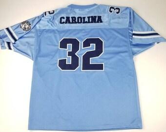 c852cb247b9 Vintage North Carolina Tarheels NCAA Sewn Stitched Colosseum Athletics  Football Jersey Size XL unc michael jordan charlotte hornets panthers