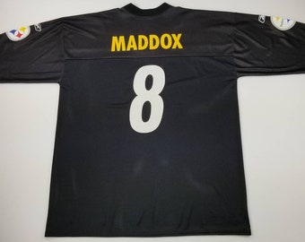 a35fb9e9c4e Vintage Pittsburgh Steelers Tommy Maddox 8 NFL REEBOK Football Jersey Size  XL - pirates jerome bettis hines ward ben roethlisberger pirates