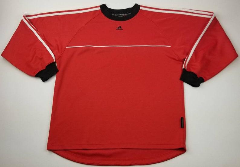 96a9dbf10 Vintage Adidas Die Marke Mit Den 3 Streifen Goalkeeper Goalie