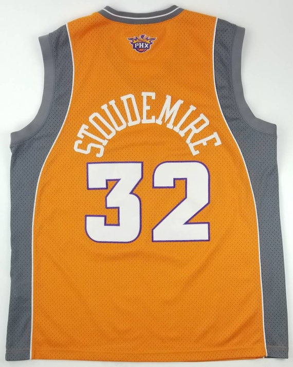 innovative design ead1a a245a NIKE Phoenix Suns Amare Stoudemire NBA Orange Sewn Stitched Swingman  Basketball Jersey Size 2XL - steve nash new york knicks cardinals