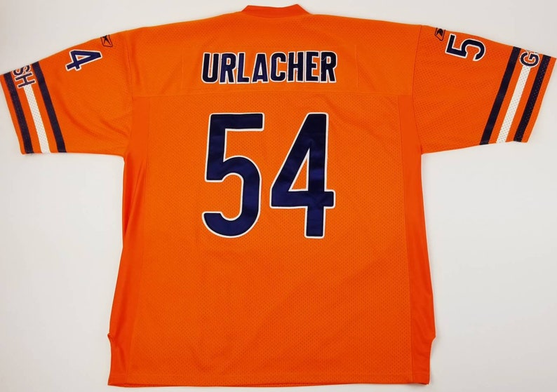 best loved 7f7ac 46645 Chicago Bears Brian Urlacher NFL Equipment On Field Sewn Stitched Reebok  football Jersey Size 2XL. 54 - walter payton jim mcmahon cubs bulls