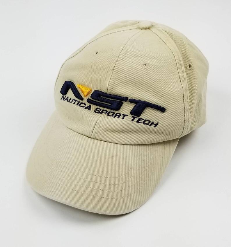 6da704af Vintage 90s Nautica Khaki Wheat Beige Strapback Dad Hat Size | Etsy