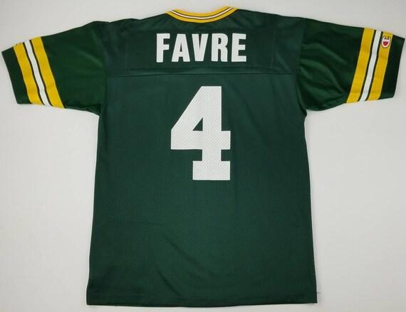 ca945d8dd43 Vintage 90s Green Bay Packers Brett Favre NFL Champion Jersey | Etsy